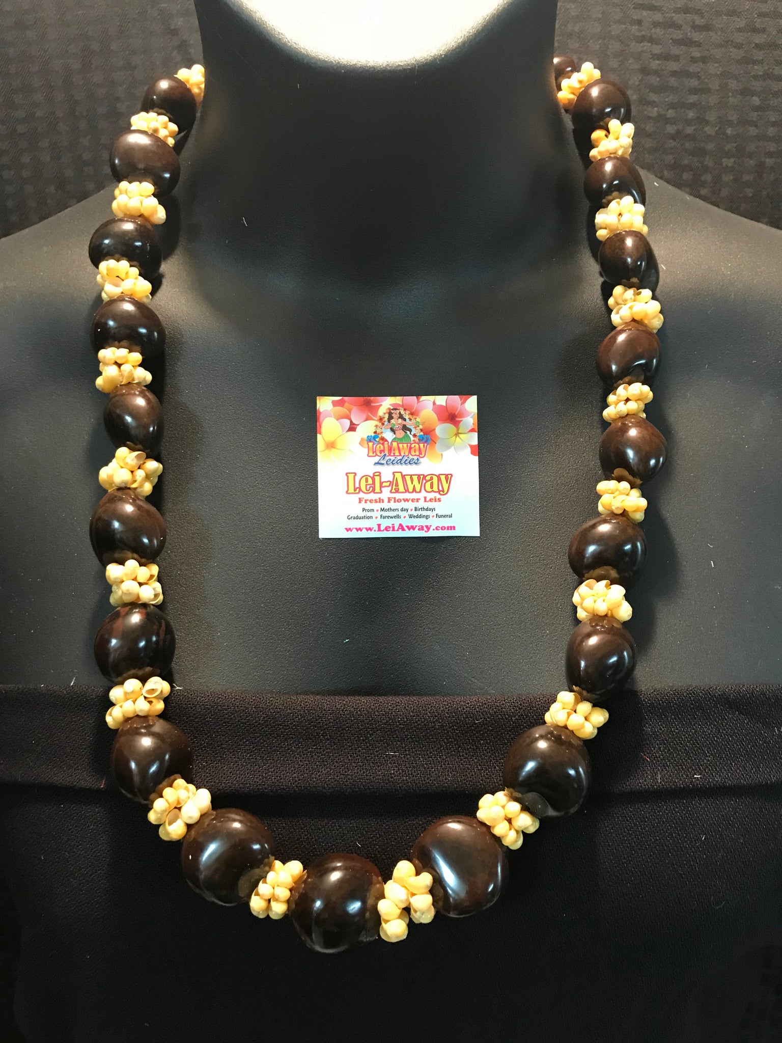 necklace kukui home nut seed
