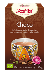 Infusión Chocolate 17 bolsitas Yogi Tea