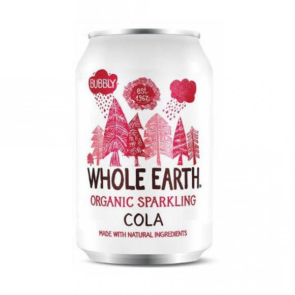 Refresco de Cola sin azúcar Whole Earth