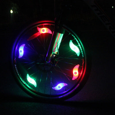 Hot Bicycle Lights Solid Fancy Flashing LED Bike Spoke Light Lamp Bicycle Cycling Wheel Wire Tyre Bright