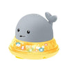 Whale Electric Induction Sprinkler Music Colorful Light Water Toy