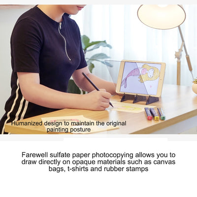 Houkiper Optical Drawing Board Easy Tracing Drawing Sketching Tool Sketch Drawing Board Picture Book Painting Artifact Sketching