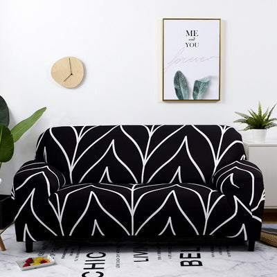 elastic stretch narrow stretch sofa cover