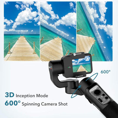 Gimbal stabilizer 3-axis camera