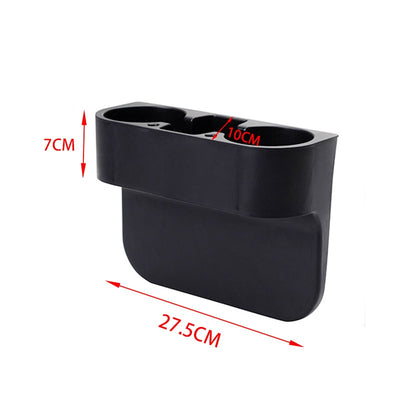 Leather Car Seat Organizer Holder Organizer Multifunctional Auto Seat Gap Storage Box ABS Seat Seam Pockets Trunk Organizer