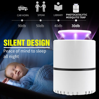 USB Electric lamp against mosquitoes Led Bug Zapper zancudos killer Pest Insect UV Photocatalysis Muta Mosquito Repeller Light