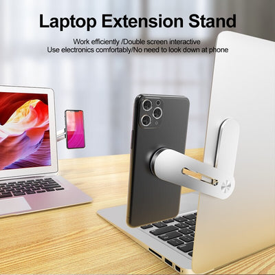Tongdaytech Universal Metal Foldable Phone Laptop Stand Magnetic Desktop Portable Holder For PC Macbook Pro Air Notebook Tablet
