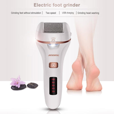 Rechargeable electric foot grinder Electric Foot File Dead Dry Skin Callus Remover Feet Pedicure Tool Feet Care for Hard Cracked