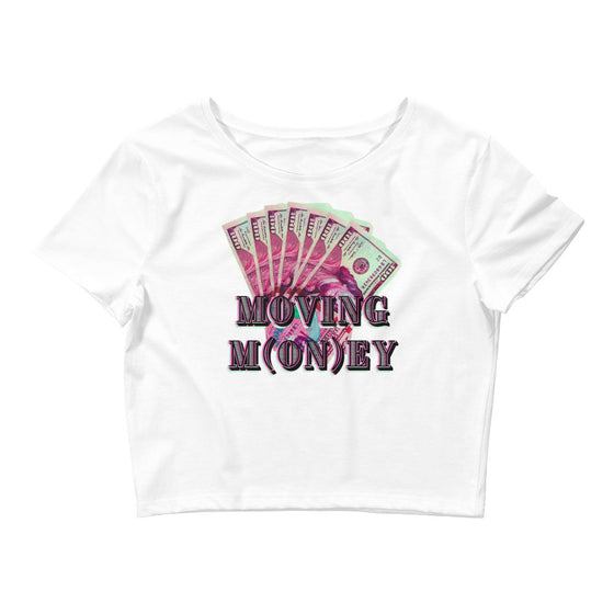 Moving M(on)ey Crop Tee