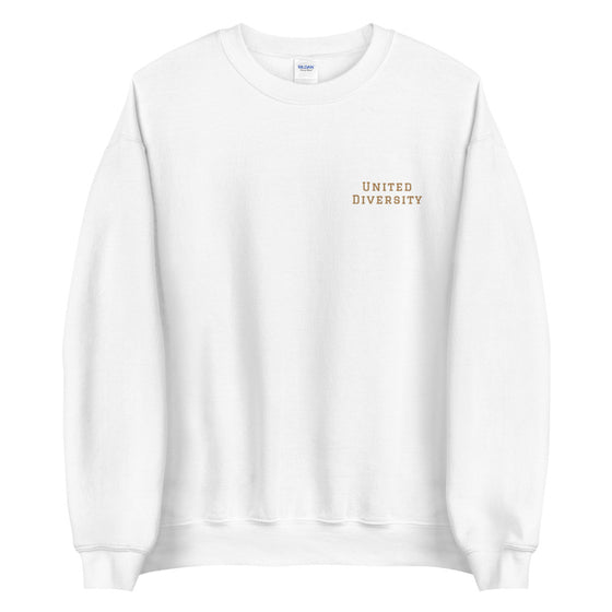 United Diversity Unisex Sweatshirt | School of Thought Series