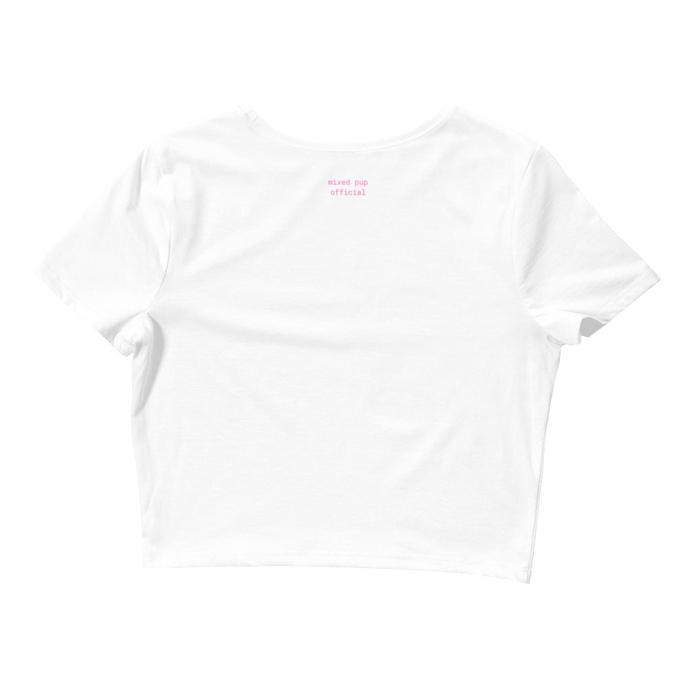 Sugar Boss Crop Tee