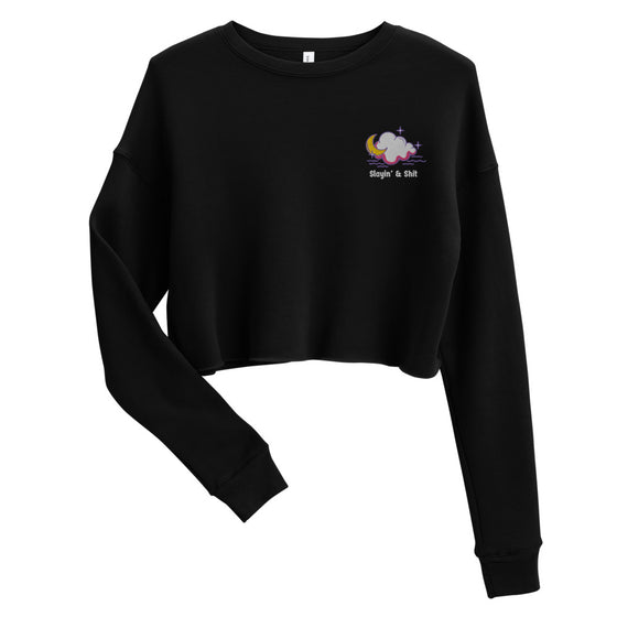 Slayin' & Shit Crop Sweatshirt