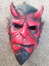 Load image into Gallery viewer, Pre Made Hellboy Resin Cast Mask