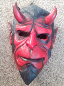 Pre Made Hellboy Resin Cast Mask