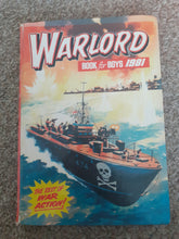 Load image into Gallery viewer, Warlord for Boys 1981