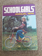 Load image into Gallery viewer, Schoolgirls Annual 1974