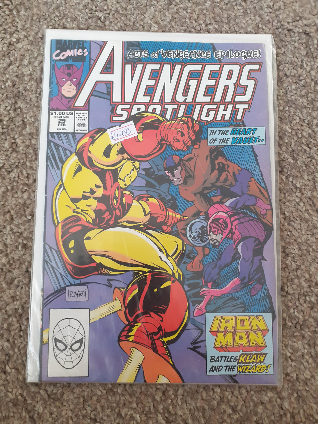 Avengers Spotlight: Acts of Vengeance Epilogue #29