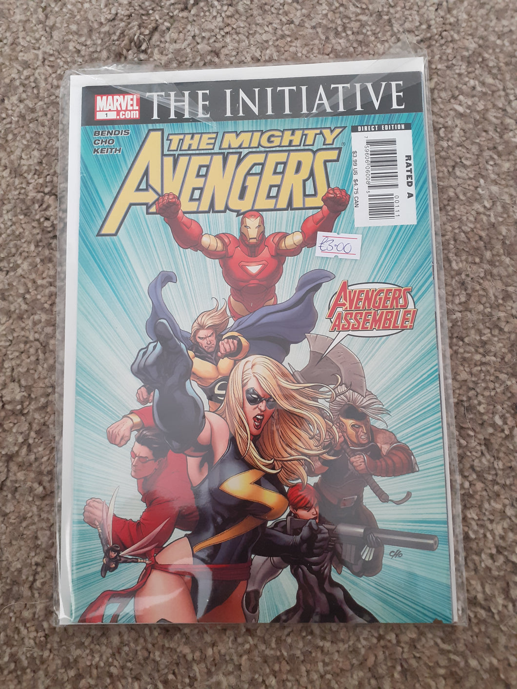 The Mighty Avengers: The Initiative #1