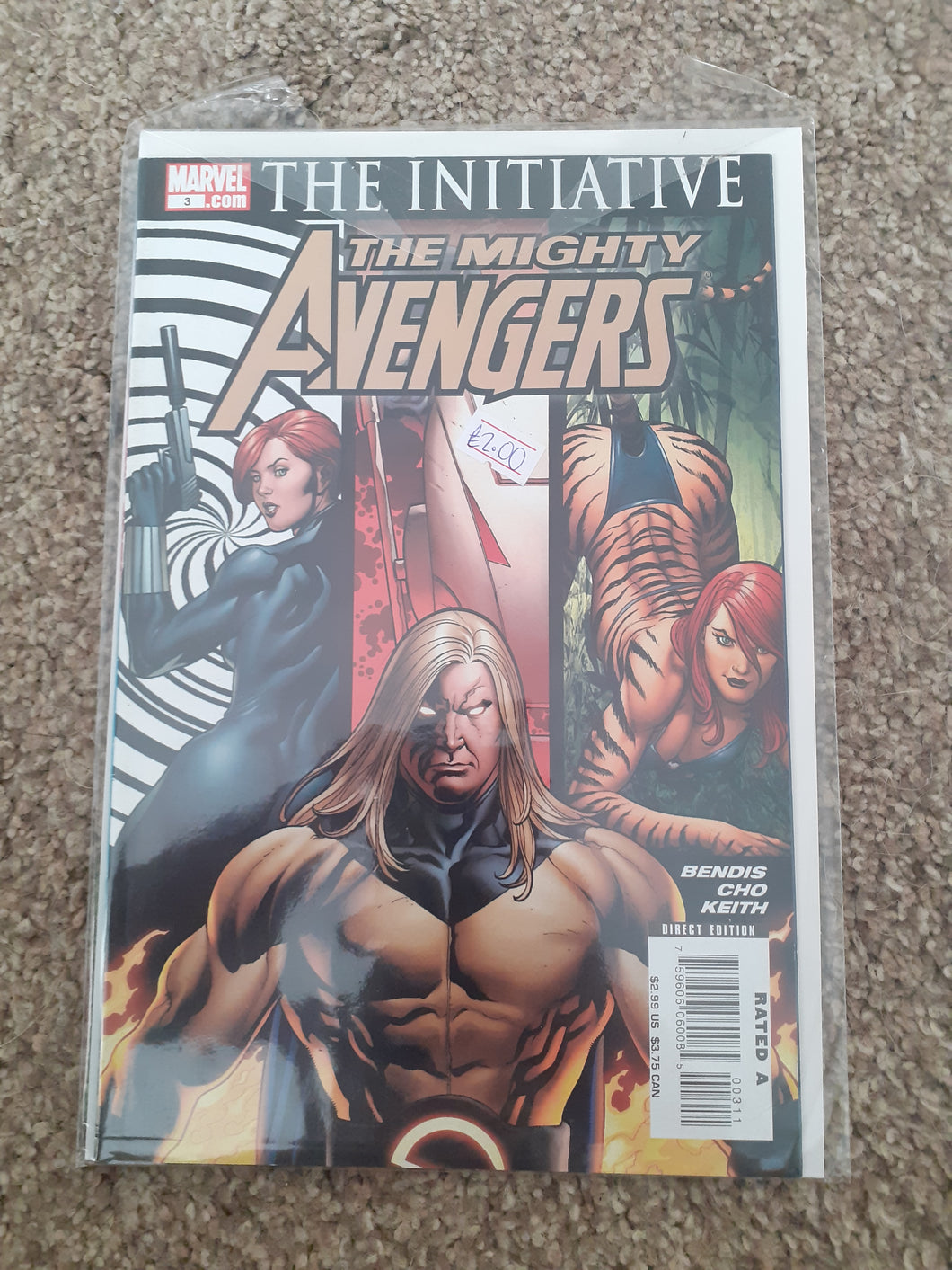 The Mighty Avengers: The Initiative #3