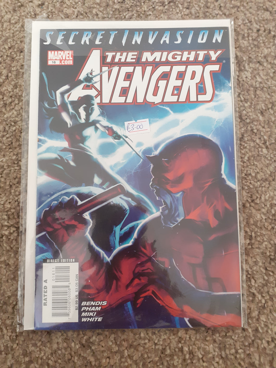 The Mighty Avengers: Secret Invasion #16