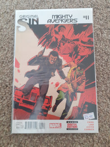 Mighty Avengers / Original Sin #11