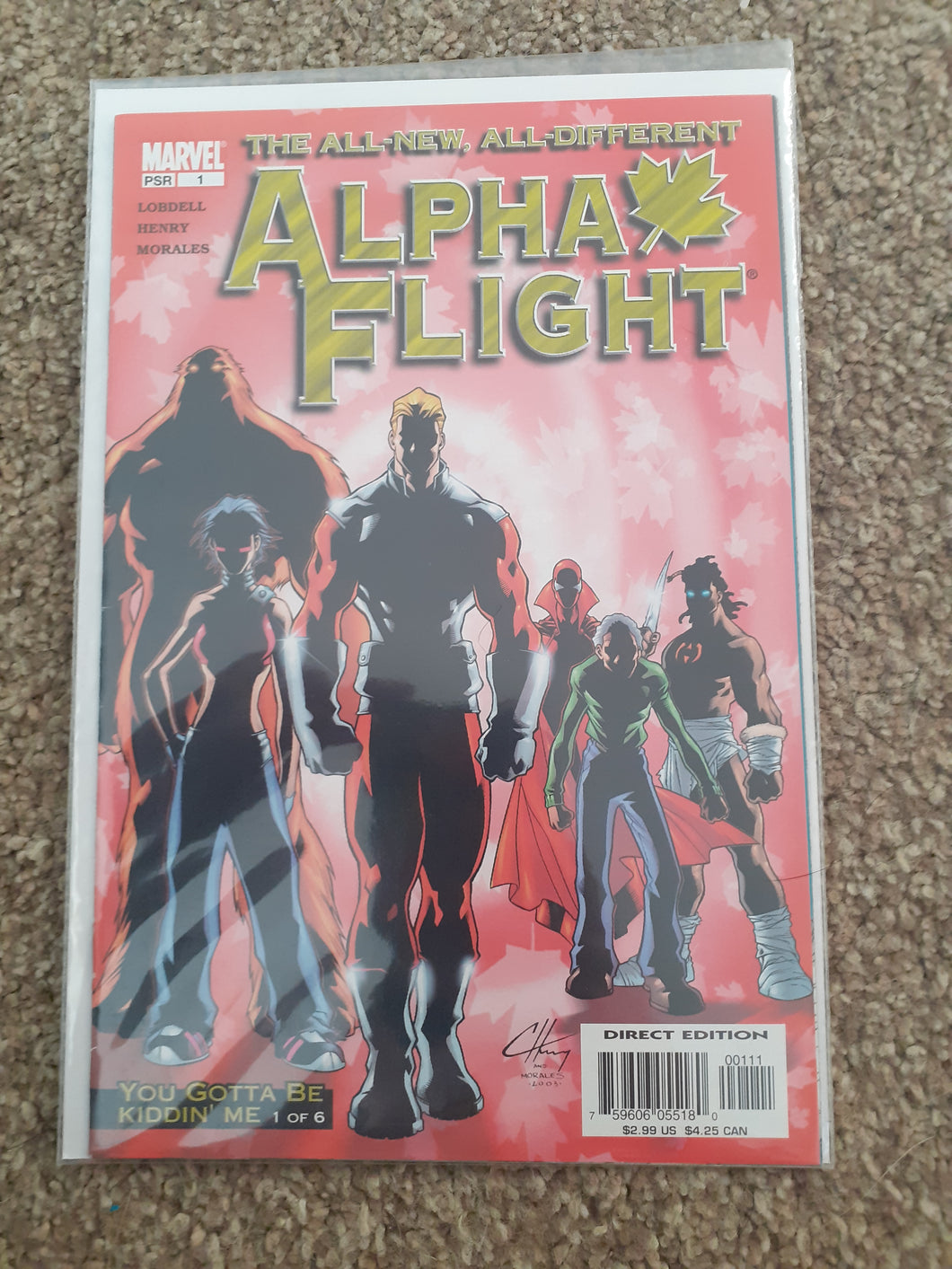 Alpha Flight: All New, All Different #1