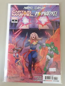 Captain Marvel and Ms. Marvel: Marvel Team-Up #6