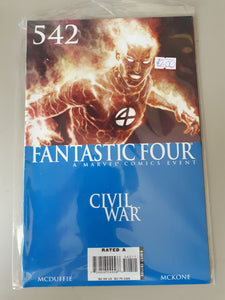 Fantastic Four: Civil War #542