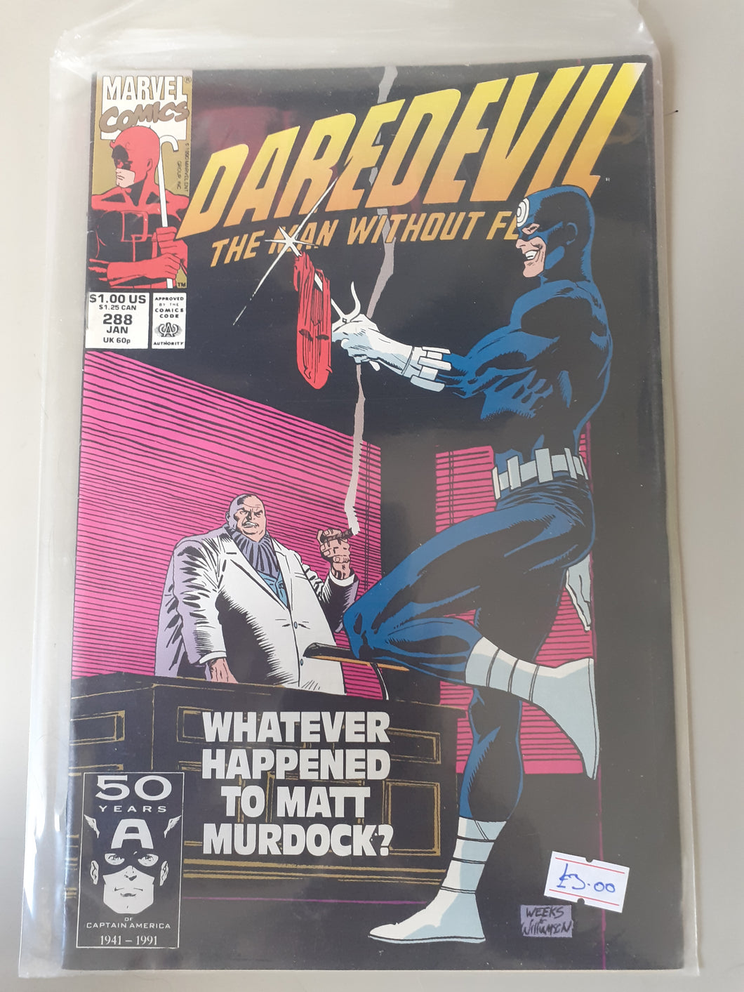 Daredevil: The Man Without Fear #288