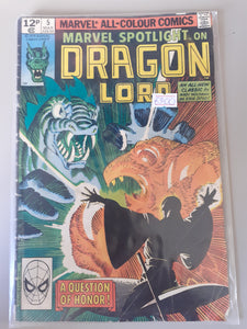 Marvel Spotlight on Dragon Lord #5