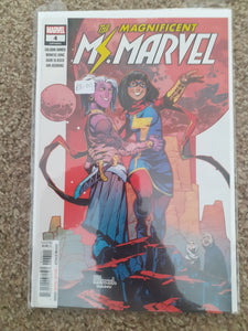 The Magnificent Ms. Marvel #4 (Legacy #61)