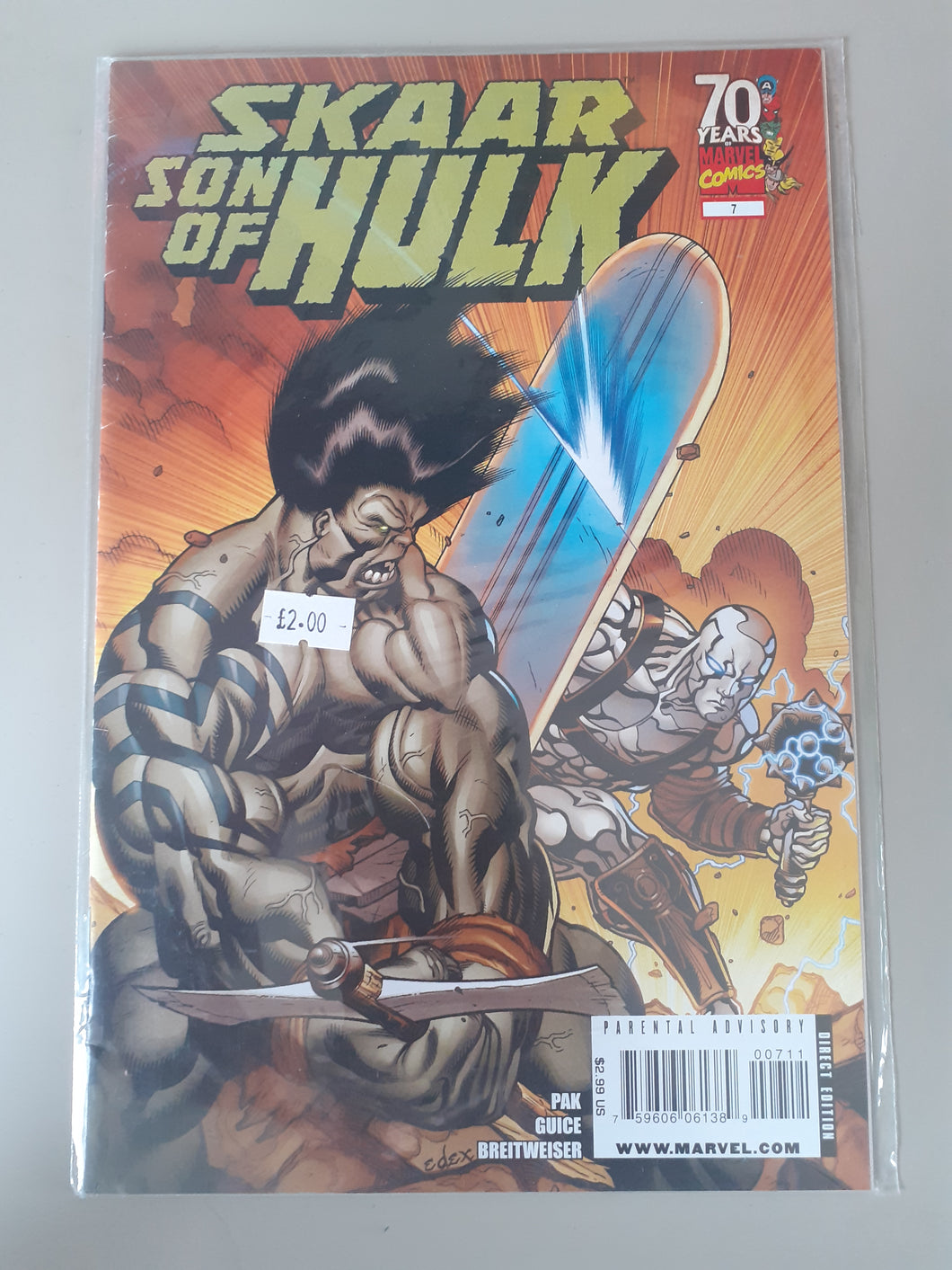 Skaar Son of Hulk #7