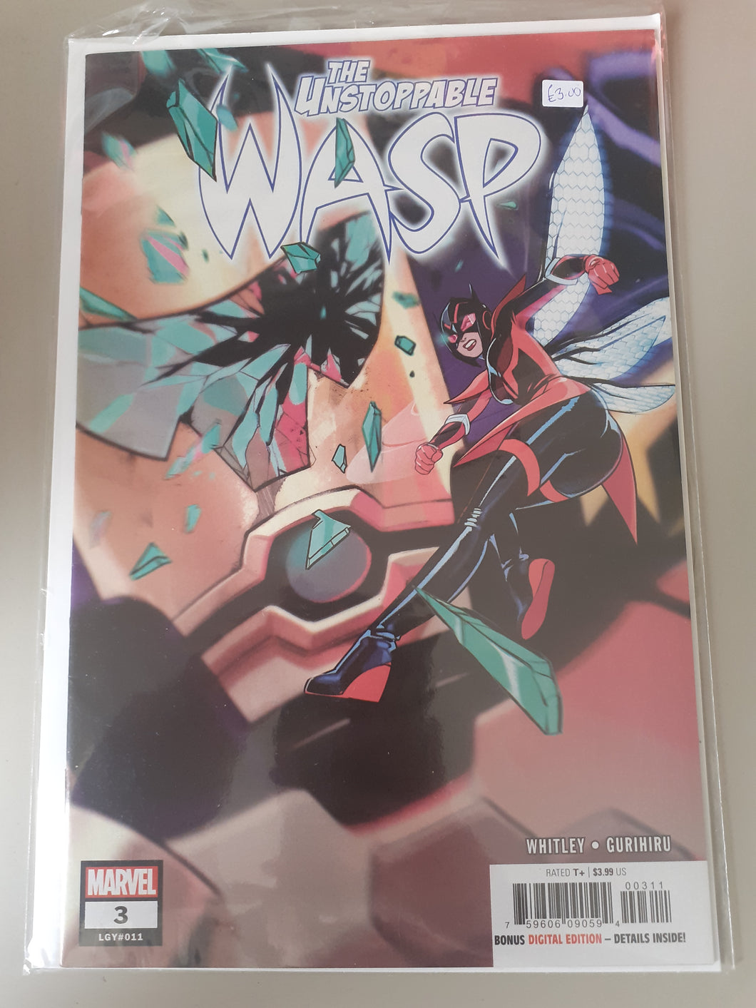 The Unstoppable Wasp #3 (Legacy #11)