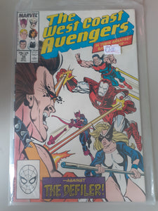 The West Coast Avengers #38