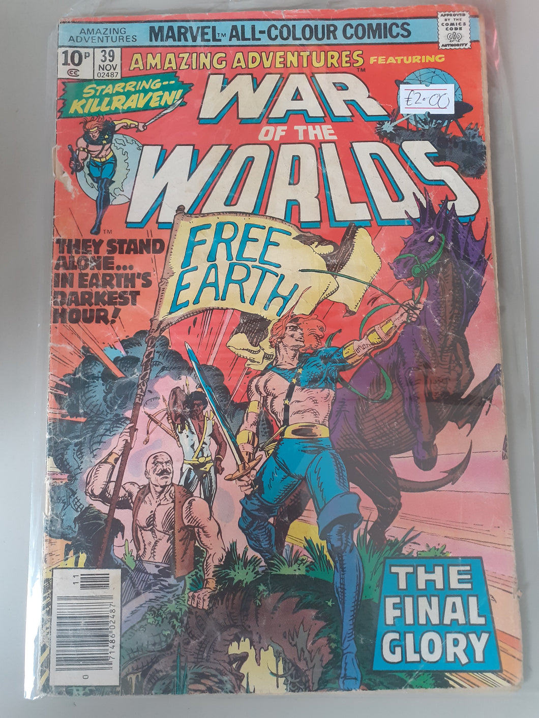 War of the Worlds #39