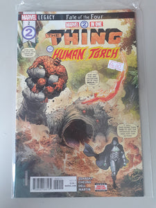 The Thing and the Human Torch #2