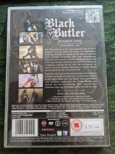 Black Butler Complete First Season DVD