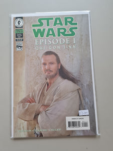 Star Wars Episode I: Qui-Gon Jinn Movie Cover