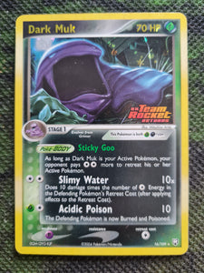 Dark Muk EX Team Rocket Returns Reverse Holo #16
