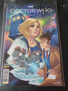 Doctor Who Comic #3