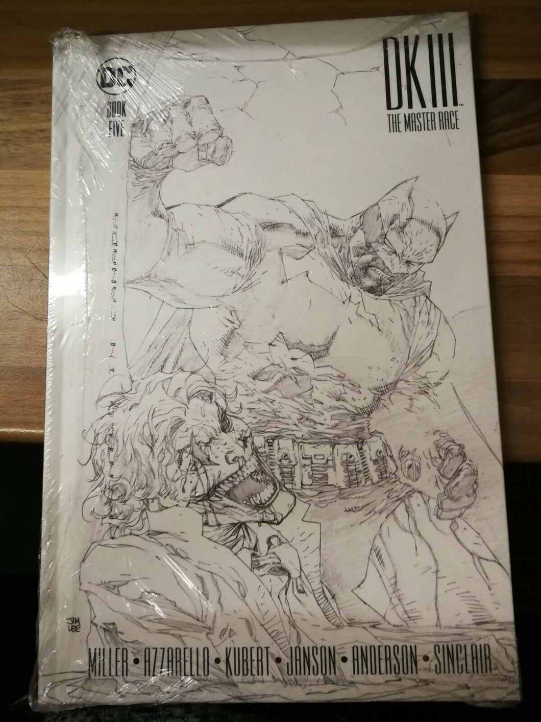 Dark Knight III: The Master Race Book Five Hardback