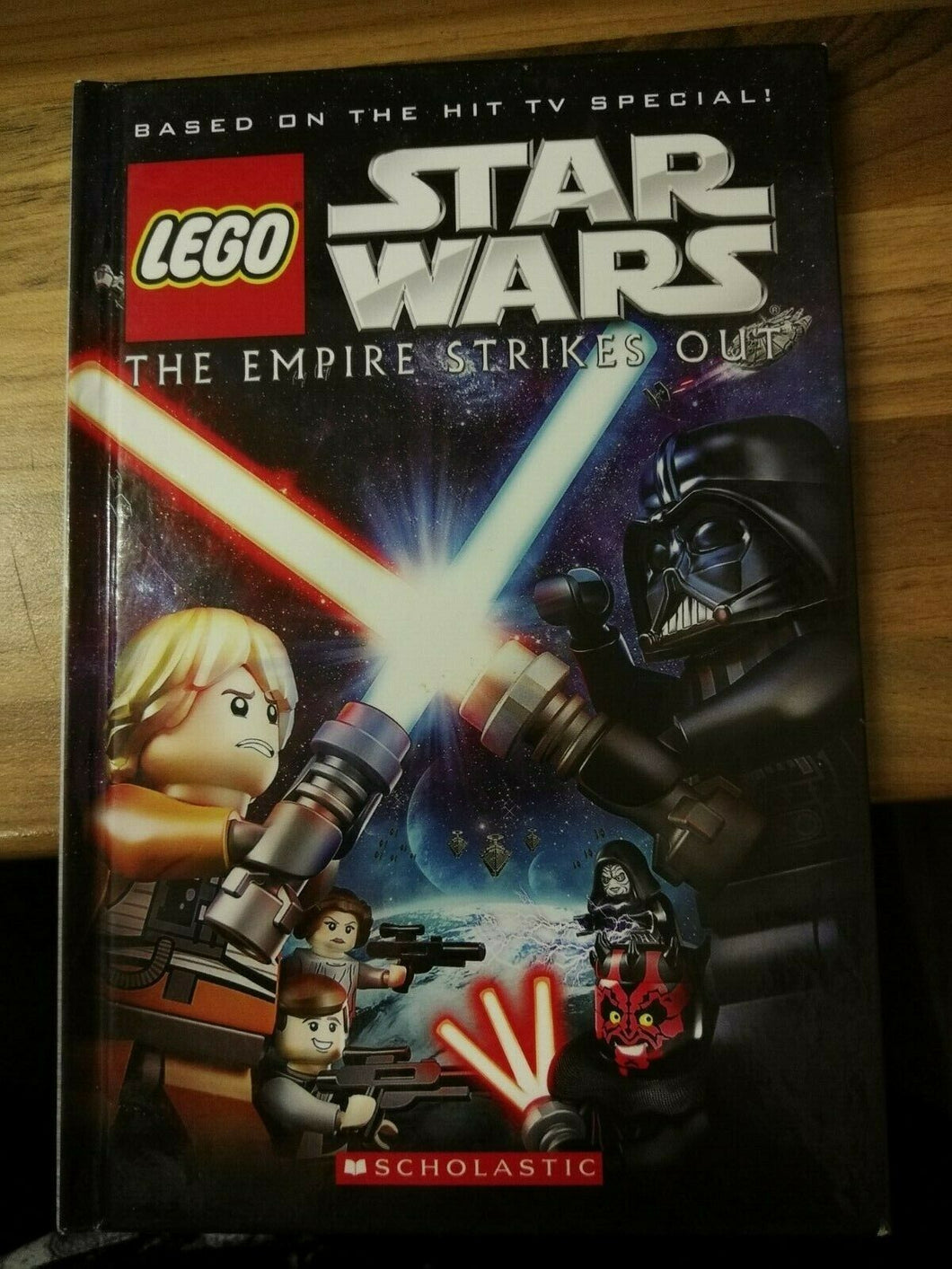 Lego Star Wars: The Empire Strikes Out Hardback