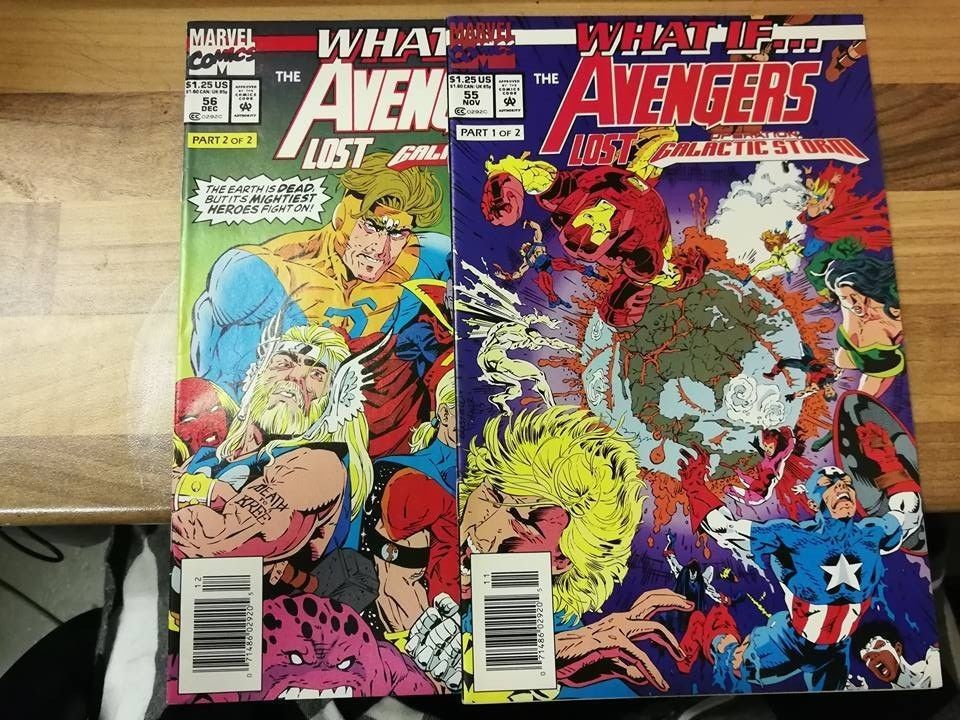 What If ... The Avengers Lost Operation Galactic Storm Parts 1 & 2