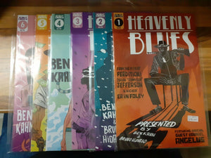 Heavenly Blues #1-6