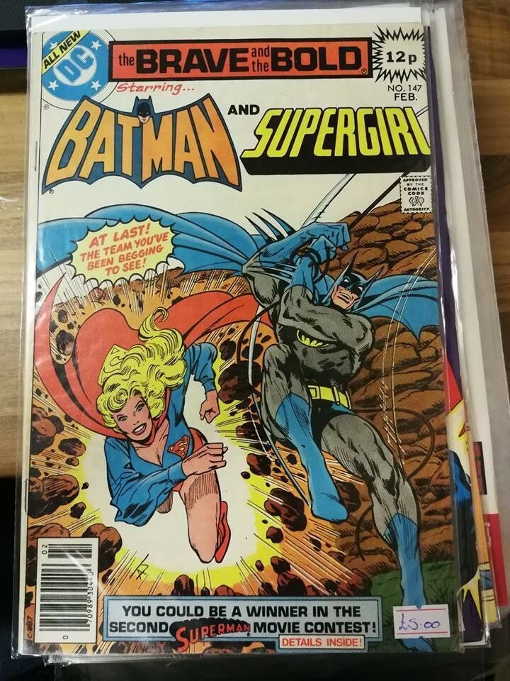 Brave and the Bold: Batman and Supergirl #147