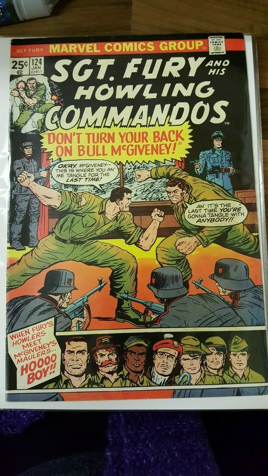 Sgt. Fury and His Howling Commandos #124