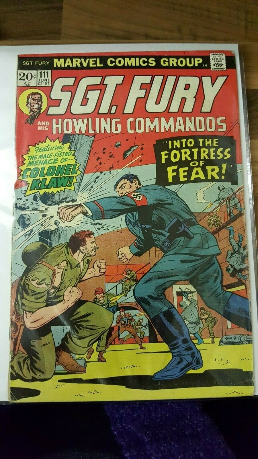 Sgt. Fury and His Howling Commandos #111