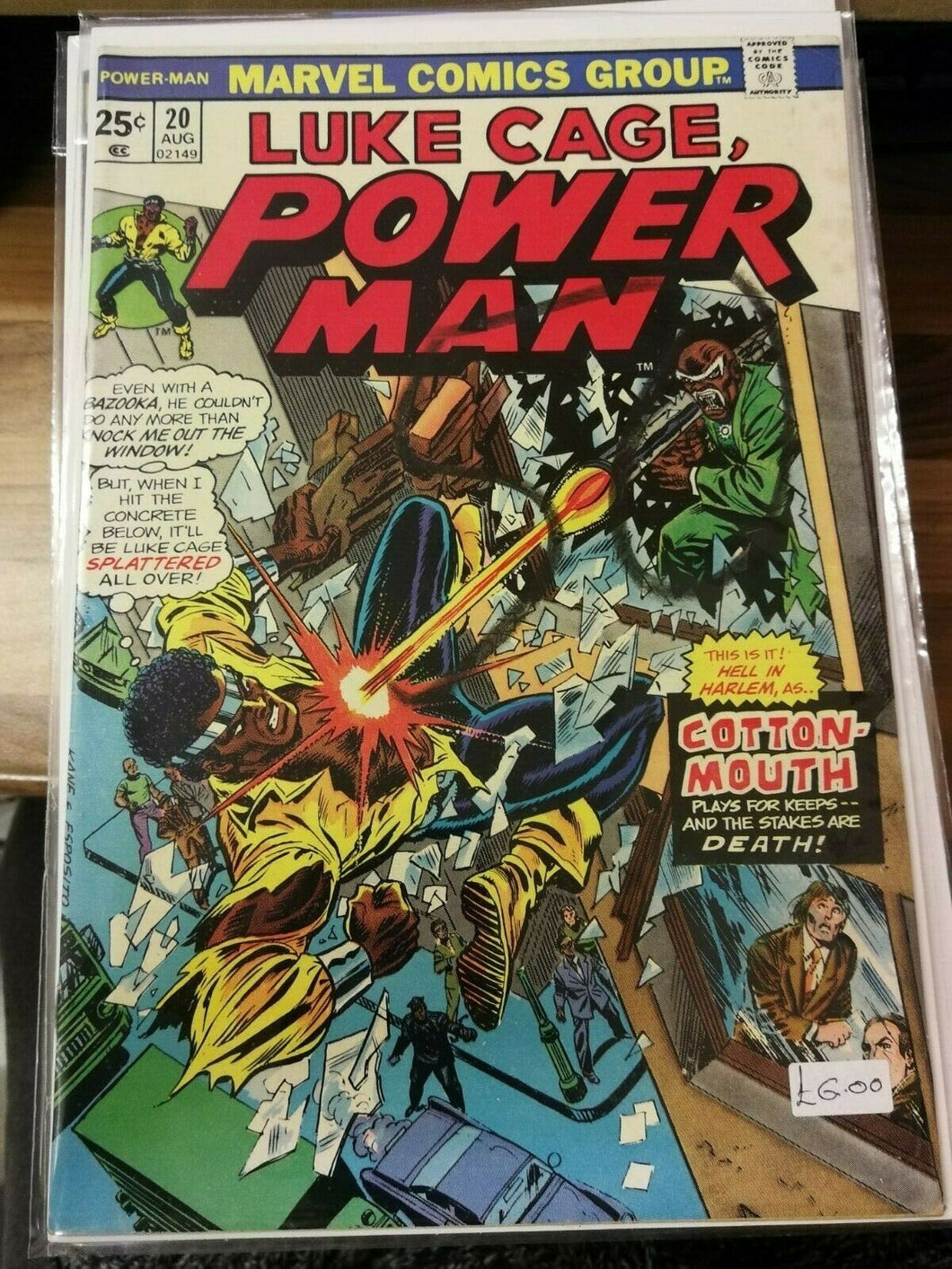 Luke Cage, Power Man #20
