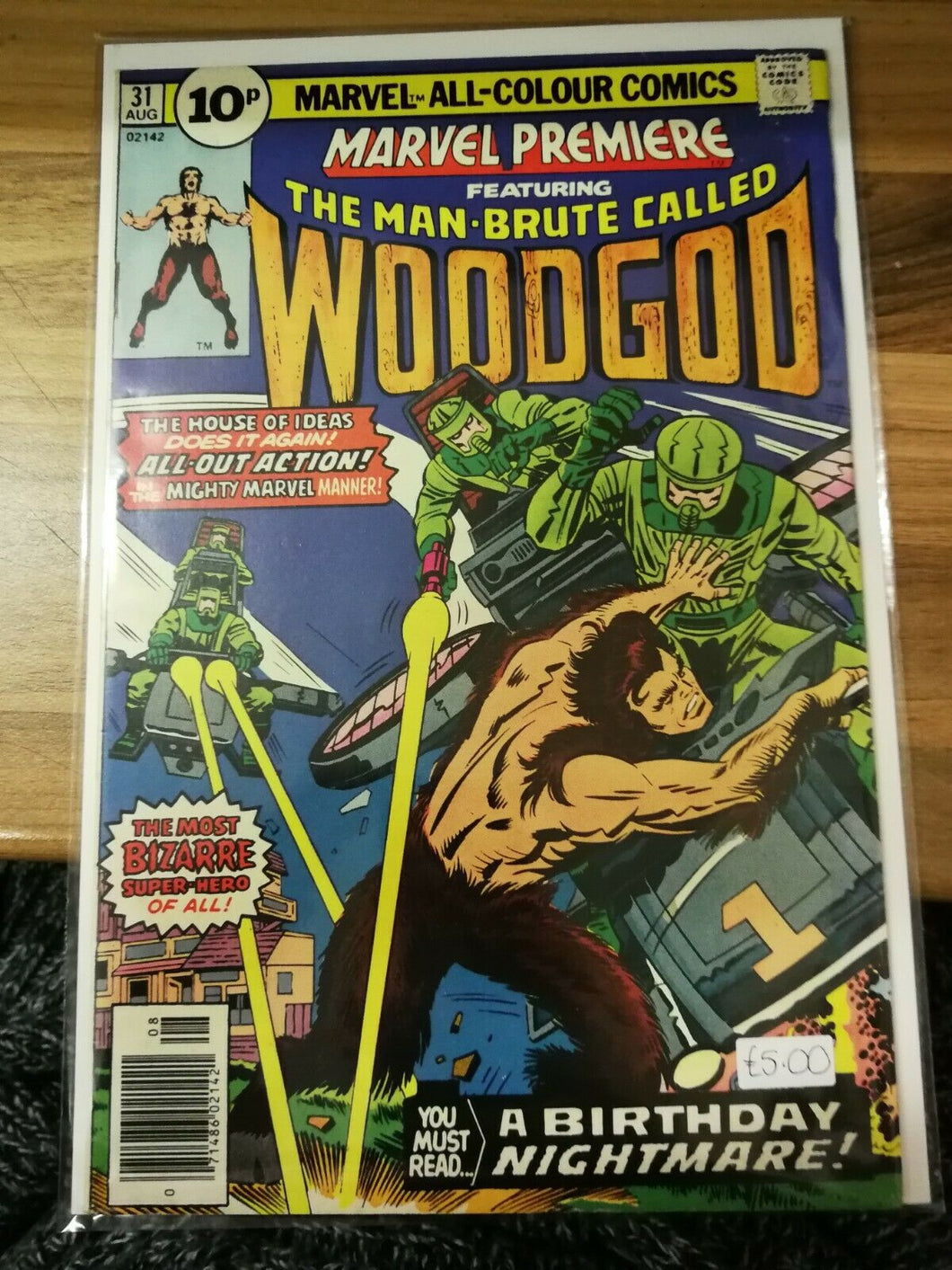 Marvel Premier Ft. The Man-Brute Called Woodgod #31