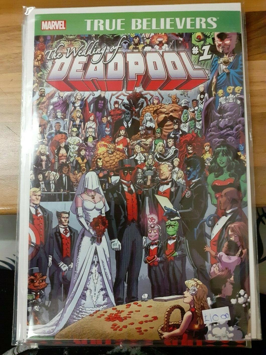 The Wedding of Deadpool #1